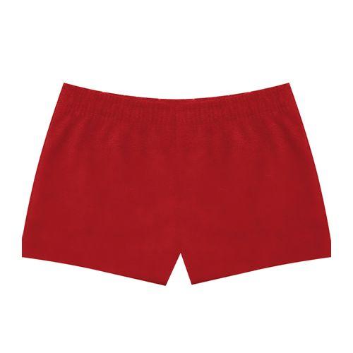 Short-Infantil-Basico-Rovitex-Kids-Vermelho