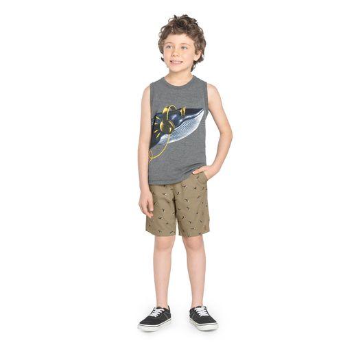 Bermuda-Infantil-Rovitex-Kids-Cinza