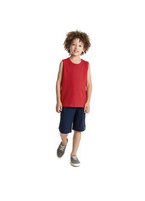 Bermuda-Infantil-Basica-Rovitex-Kids-Cinza