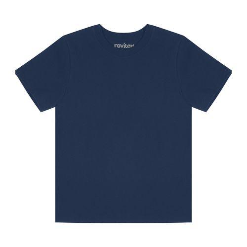 Camiseta-Infantil-Basica-Masculina-Rovitex-Kids-Azul