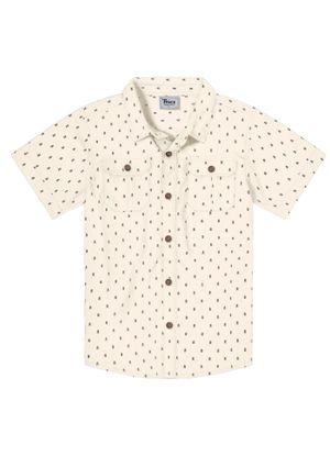Camisa-Infantil-Trick-Nick-Bege