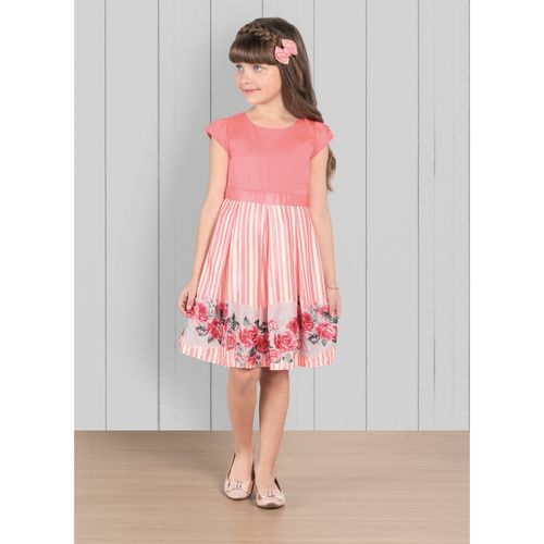 Vestido-Infantil-Trick-Nick-Rosa