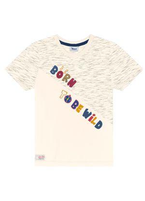 Camiseta-Infantil--Trick-Nick-Bege