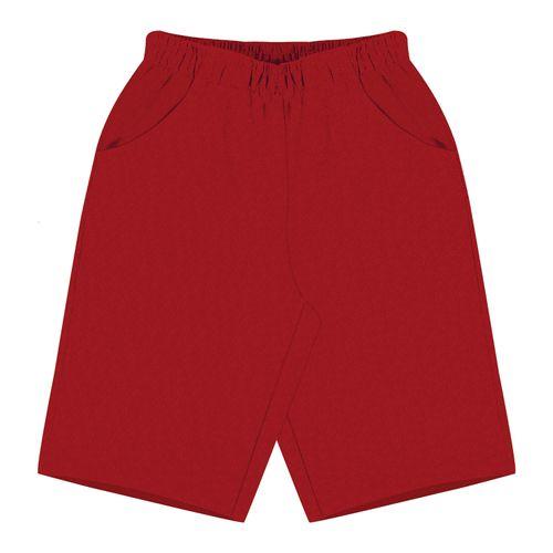 Bermuda-Infantil-Moletom--Rovitex-Kids-Vermelho