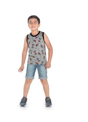 Regata-Infantil-Rovitex-Kids-Cinza