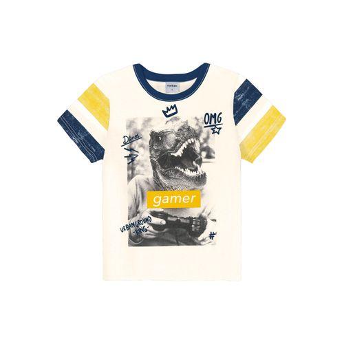 Camiseta-Infantil-Rovitex-Kids-Bege
