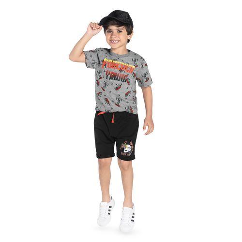 Bermuda-Infantil-Rovitex-Kids-Preto