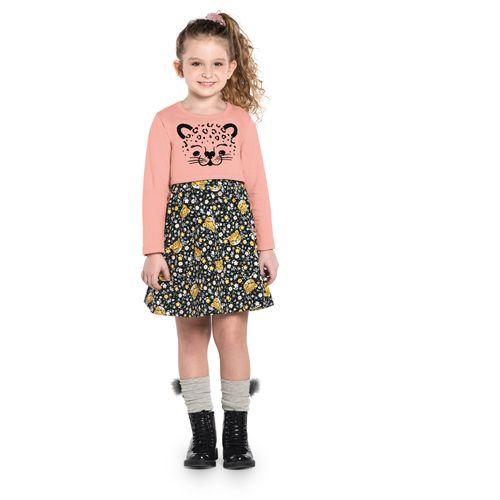 Conjunto-Infantil-Feminino-Vestido-Rovitex-Kids-Rosa