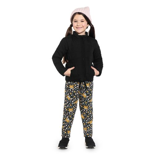 Calca-Infantil-Feminina-Onca-Jogger-Rovitex-Kids-Preto
