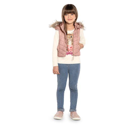 Colete-com-Capuz-Infantil-Trick-Nick-Rosa