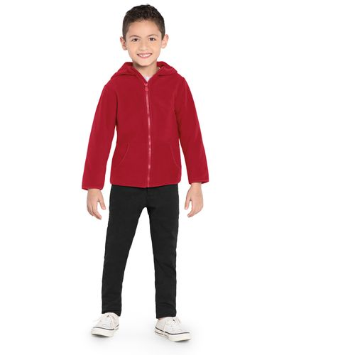 Jaqueta-Infantil-Capuz--Malha-Soft-Rovitex-Kids-Vermelho