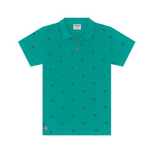Polo-Infantil-Piquet-Masculina-Rovitex-Kids-Verde