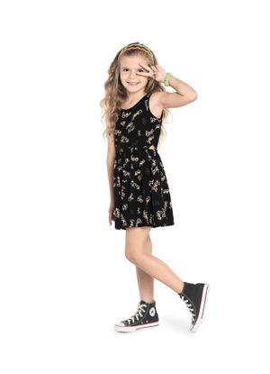 Vestido-Infantil-Estampado--Rovitex-Kids-Preto