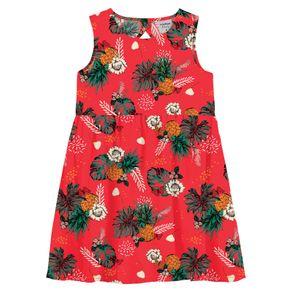 Vestido-Infantil-Floral-Rovitex-Kids-Vermelho