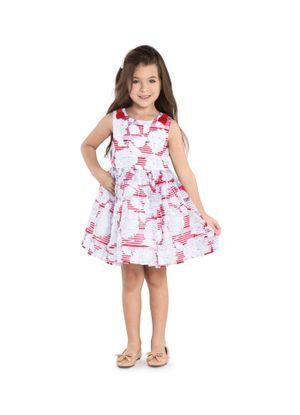 Vestido-Infantil-Floral-Trick-Nick-Vermelho