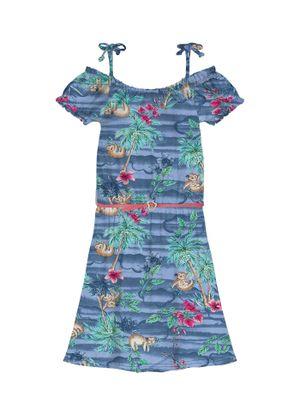 Vestido-Infantil-Ciganinha-Rovitex-Kids-Azul