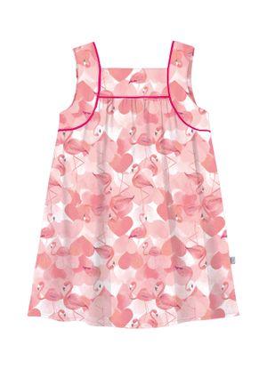 Vestido-Infantil-Popeline-Rovitex-Kids-Rosa