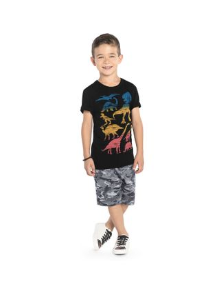 Bermuda-Infantil-Dinossauros-Rovitex-Kids-Cinza