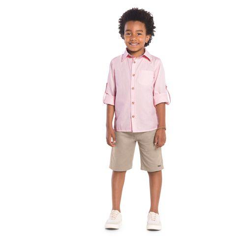 Camisa-Infantil-Trick-Nick-Rosa