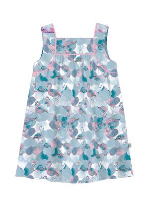 Vestido-Infantil-Popeline-Rovitex-Kids-Azul
