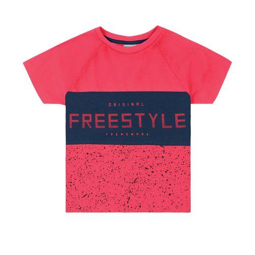 Camiseta-Infantil-Estampada-Trick-Nick-Vermelho