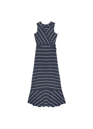 Vestido-Feminino-Longo-Rovitex-Azul