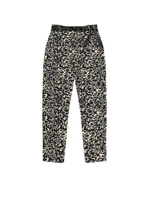 Calca-Feminina-Animal-Print-Endless-Preto