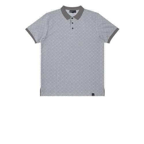 Camisa-Polo-Masculina-Rovitex-Cinza