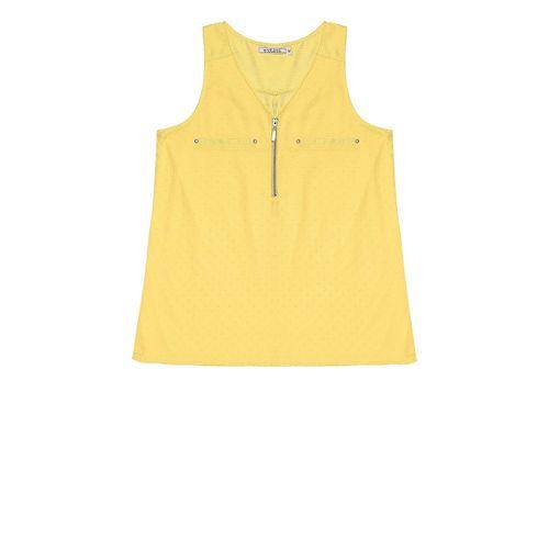 Regata-Feminino-Endless-Amarelo