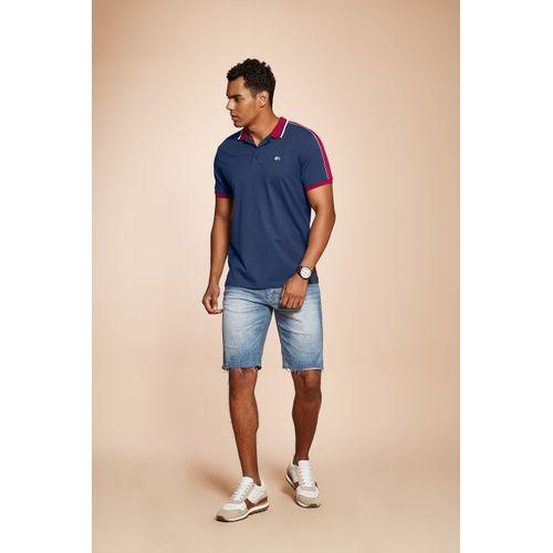 Camisa-Polo-Basica-Masculina-Rovitex-Azul