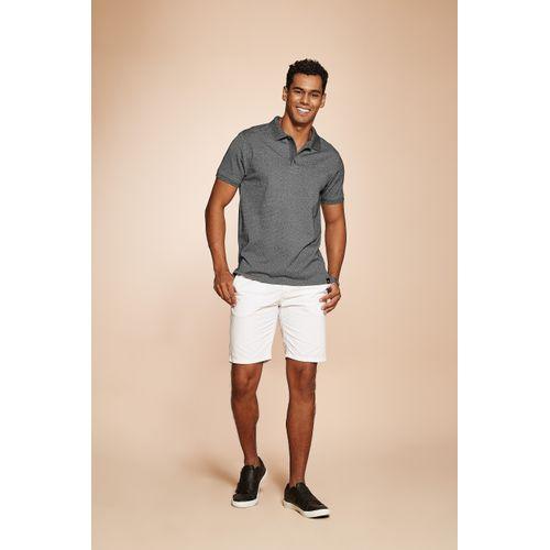 Camisa-Polo-Masculina-Basica-Rovitex-Cinza