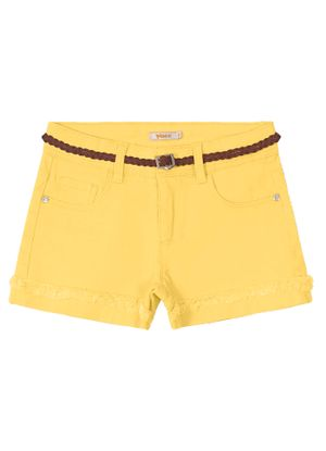 Short-Infantil-com-cinto-Trick-Nick-Amarelo