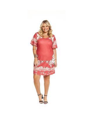 Vestido-Feminino-Estampado-Secret-Glam-Vermelho