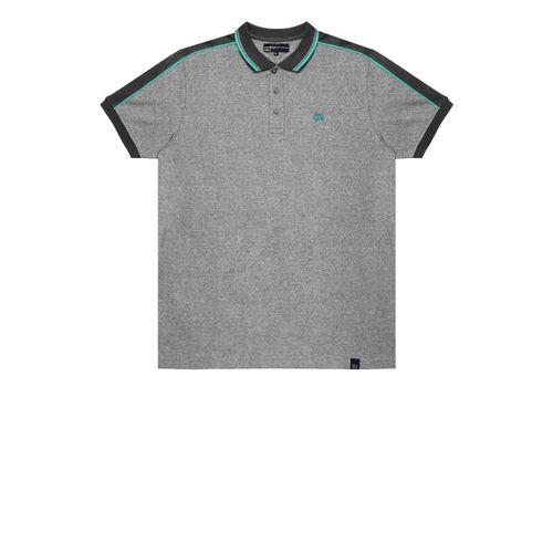 Camisa-Polo-Basica-Masculina-Rovitex-Cinza
