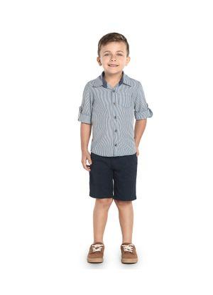 Camisa-Infantil-Trick-Nick-Azul
