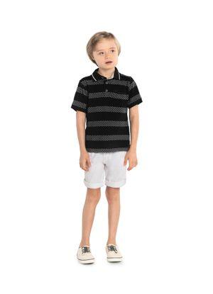 Camisa-Infantil-Listrada-Trick-Nick-Preto