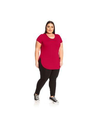 Blusa-Feminina-Basica-Rovitex-Plus-Vermelho