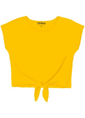 Blusa-Feminina-Basica-Rovitex-Plus-Amarelo