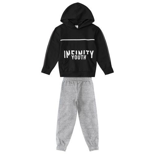 Conjunto-Infantil-Moletom-Infinity-Rovitex-Kids-Preto