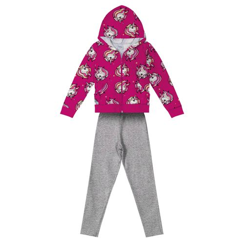Conjunto-Infantil-Feminino-Unicornio-Rovitex-Kids-Rosa