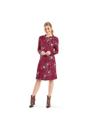 Vestido-Feminino-Estampado-Rovitex-Vermelho