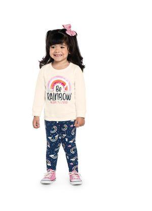 Conjunto-Infantil-Feminino-Arco-Iris-Rovitex-Kids-Bege