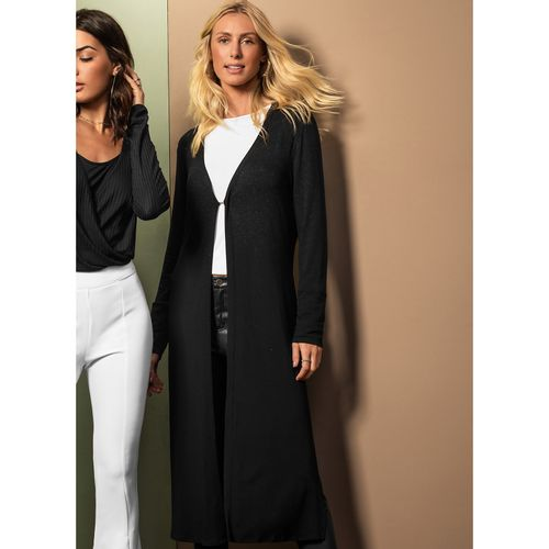 Cardigan-Feminino-Alongado-Endless-Preto
