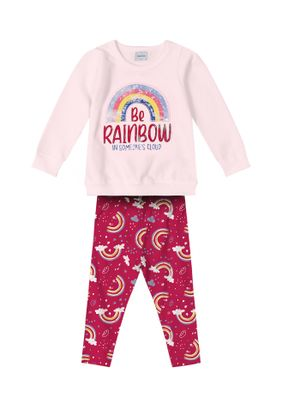Conjunto-Infantil-Feminino-Arco-Iris-Rovitex-Kids-Rosa
