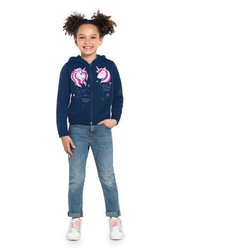 Jaqueta-Infantil-Feminina-Unicornio-Rovitex-Kids-Azul