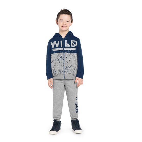 Conjunto-Infantil-Moletom-Wild-Rovitex-Kids-Azul
