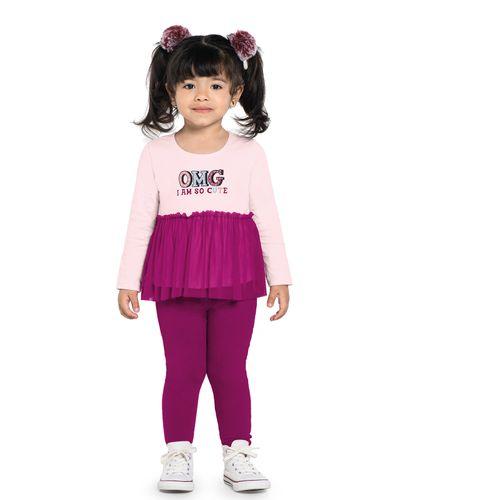 Conjunto-Infantil-Feminino-Glitter-Rovitex-Kids-Rosa
