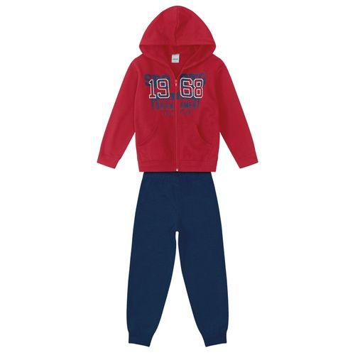 Conjunto-Infantil-Moletom-Rovitex-Kids-Vermelho