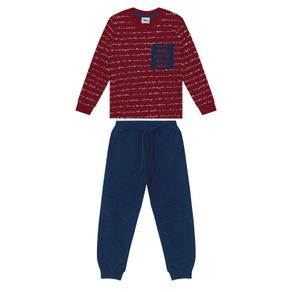 Conjunto-Infantil-Camiseta-com-Calca-Trick-Nick-Vermelho