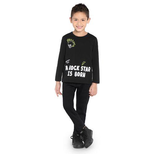 Camiseta-Manga-Longa-Rovitex-Kids-Preto